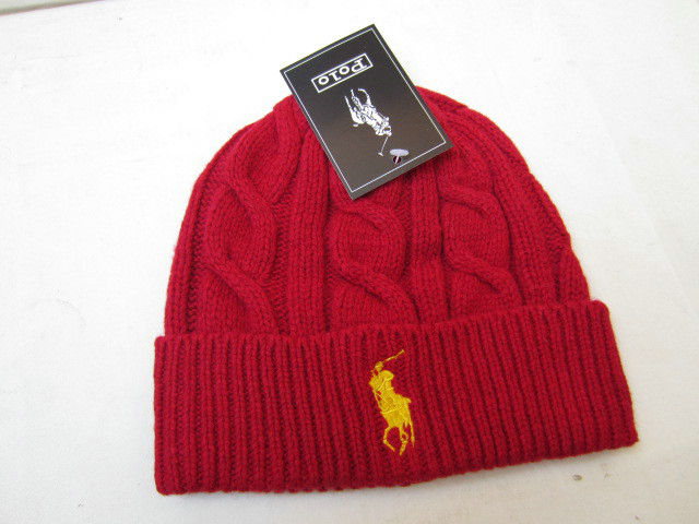 Polo Red Beanie 1 LX